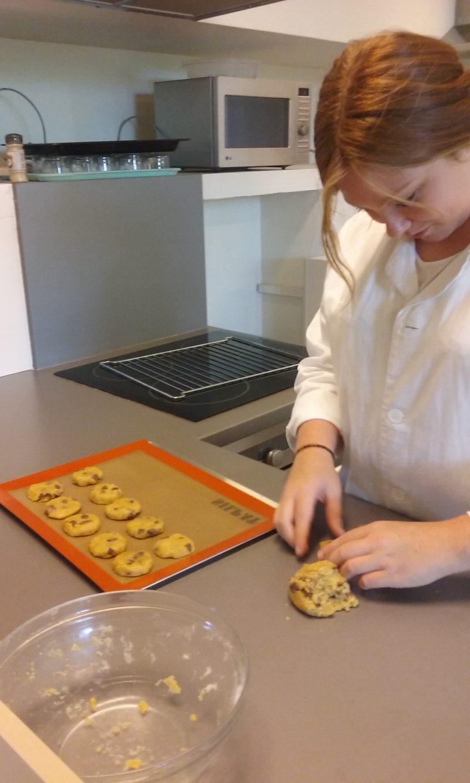 Bac Professionnel SAPAT : fabrication de cookies !