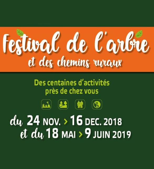 Festival de l'arbre 2018 : la filière forêt bois vous invite !