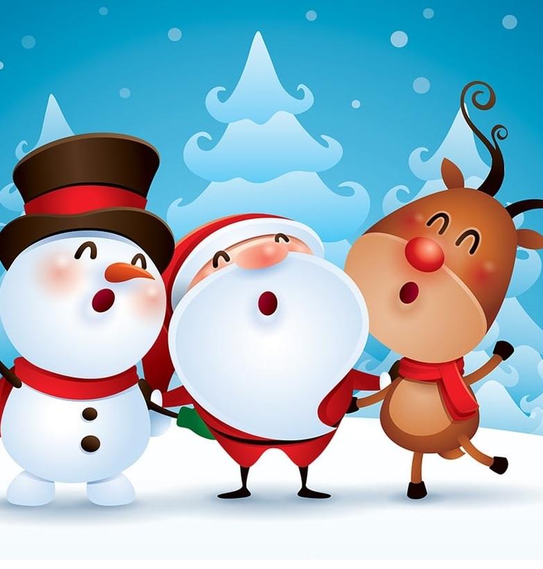 Noël pour les élèves à l'internat