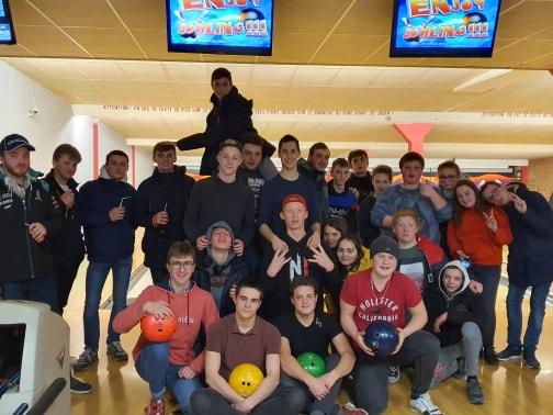 Bowling pour les internes